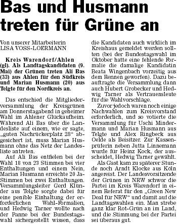 """Artikel aus """"Die Glocke"""" vom 27.02.2010"""