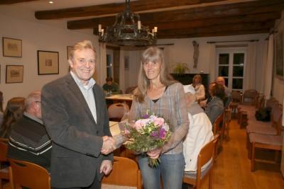 Marita Brormann 25 Jahre aktiv