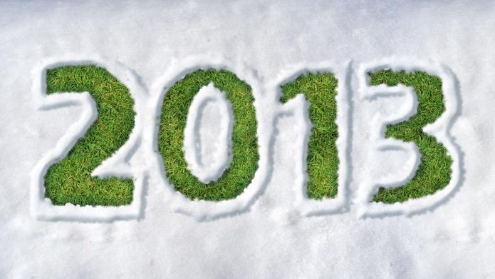 Die Farbe des Jahres 2013 ist grün