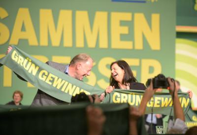 Katrin Göring--Eckhardt und Jürgen Trittin