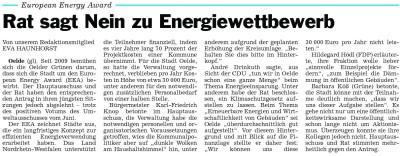 """Artikel aus """"Die Glocke"""" vom 27.09.2012"""