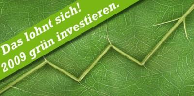 2009 grün investieren