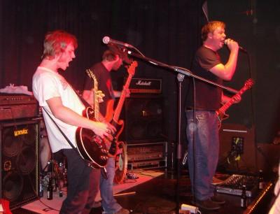 Lost Youth auf der Bühne in der Alten Post
