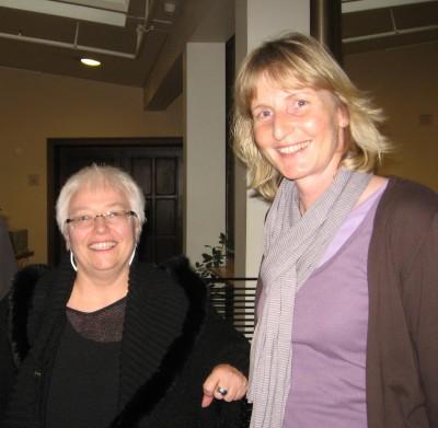 Sigrid Beer und Barbara Köß