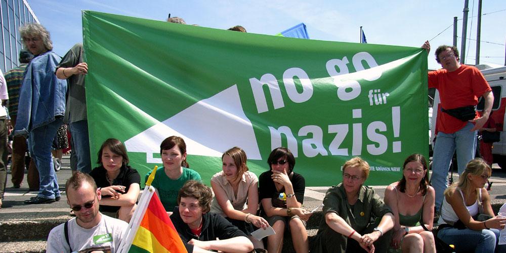 Demo - no go für nazis