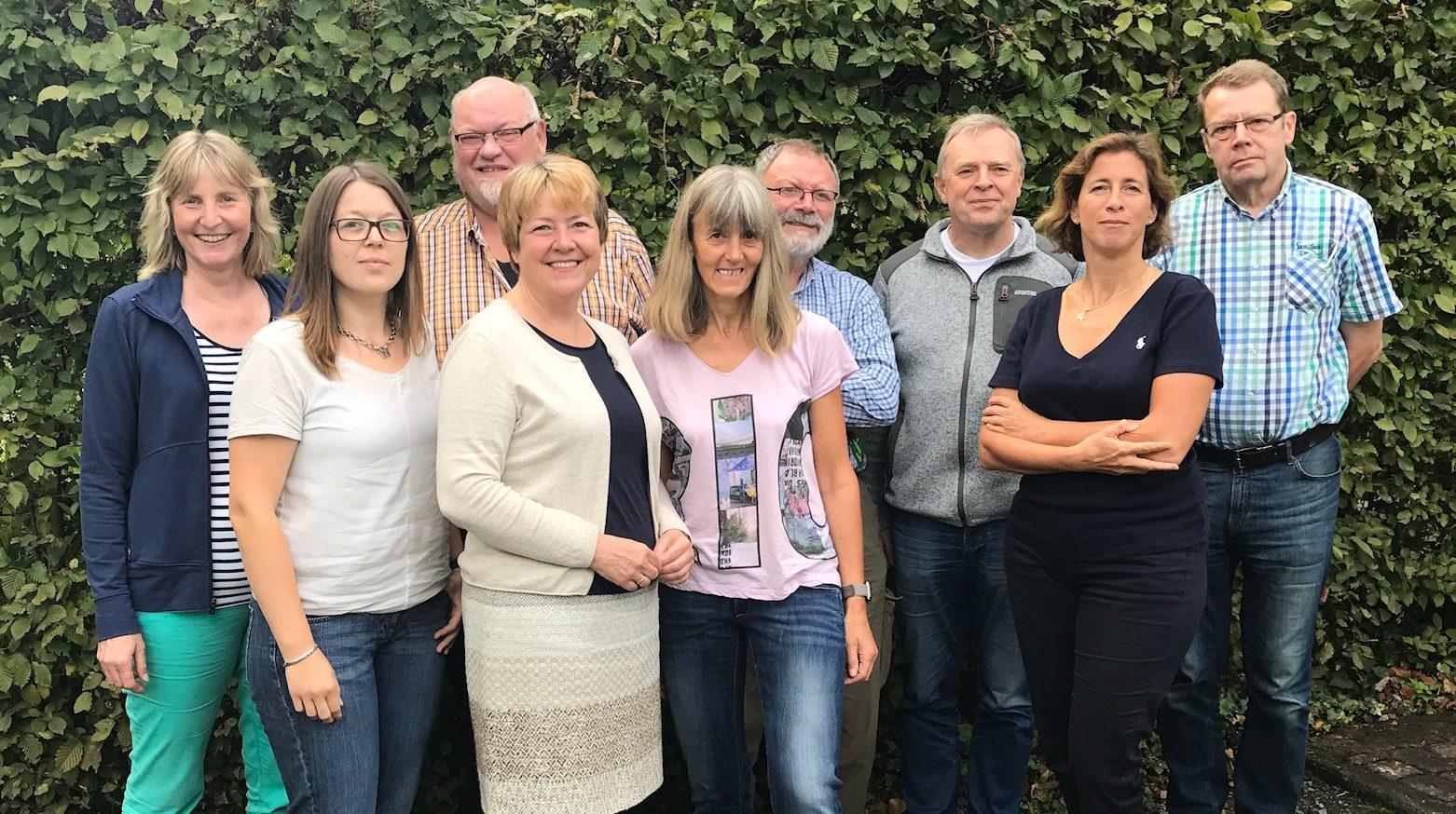 Grüne Kandidatin Marion Schniggendilller zu Besuch in Oelde
