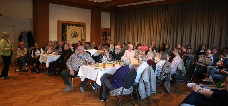 Über 60 Interessierte informierten sich über Wege aus der Wegwerfgesellschaft.