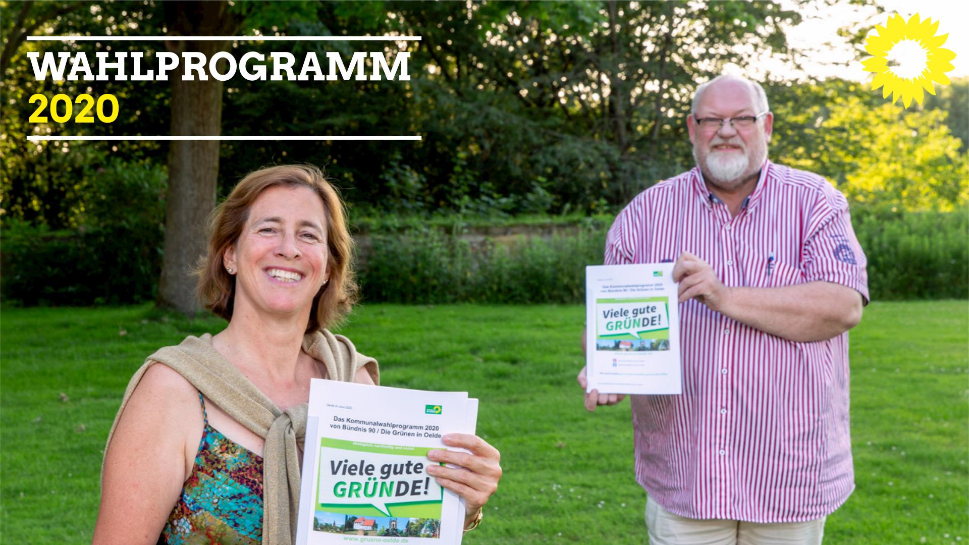 Grünes Wahlprogramm: Oelde wird grün, innovativ, bezahlbar, gerecht und vielfältig