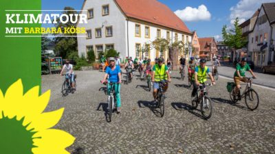 Start der Tour am Hermann-Johenning-Platz