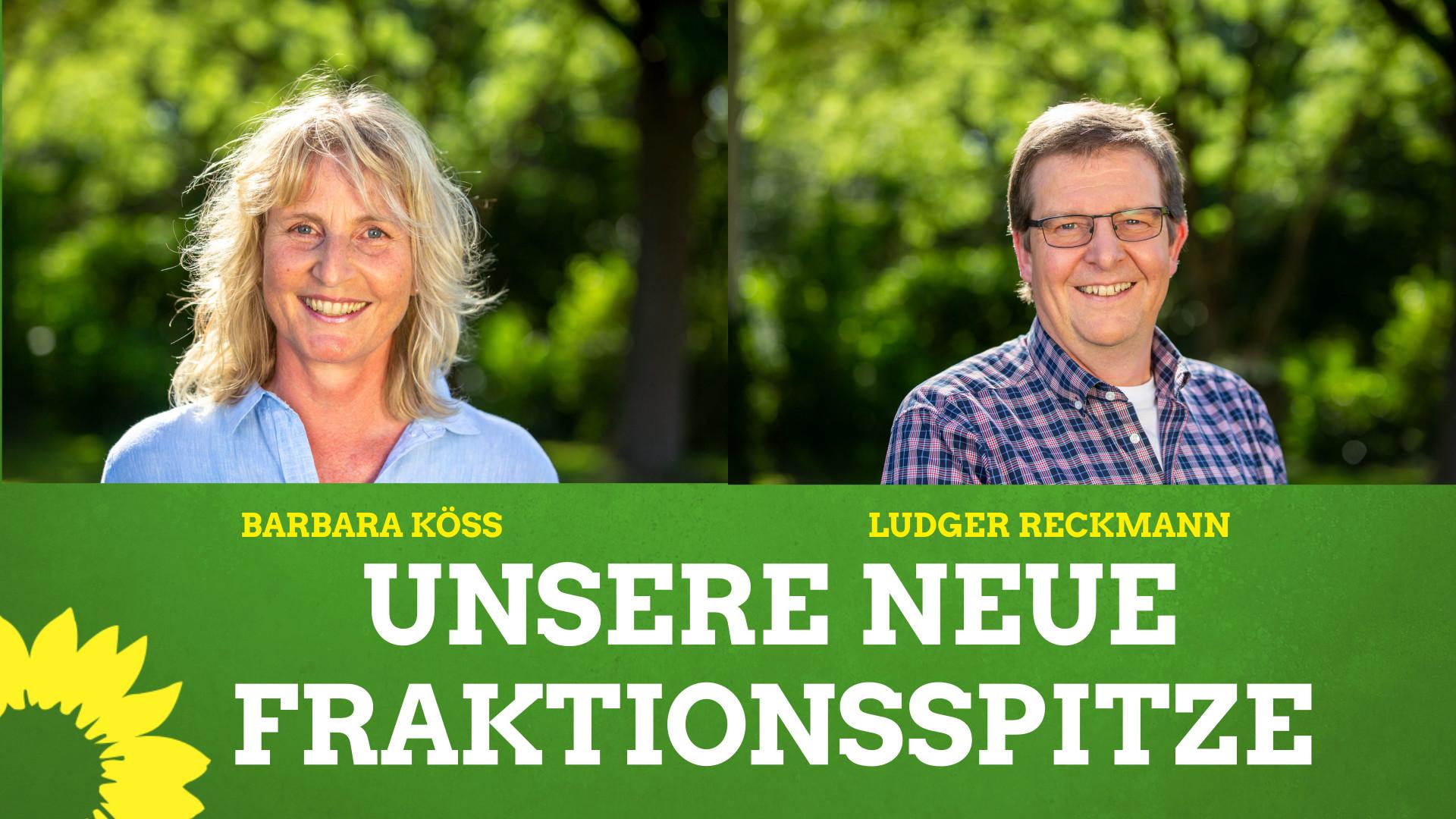 Grüne wählen neue Fraktionsspitze