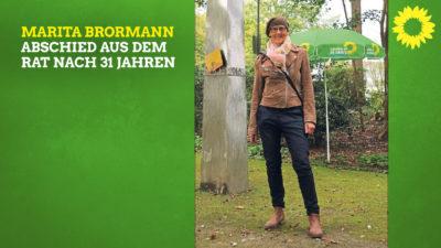 Marita Brormann - Abschied aus dem Rat