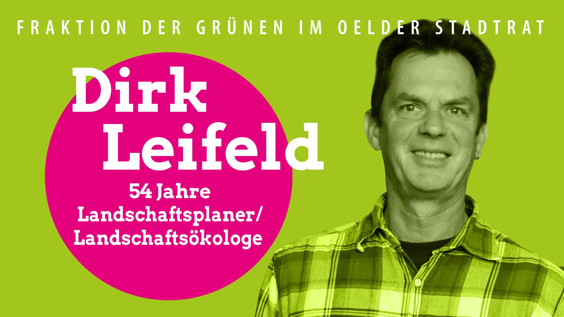 Vorstellung unseres Ratsteams – Dirk Leifeld