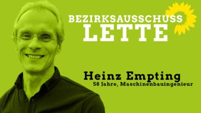 Heinz Empting, sachkundiger Bürger