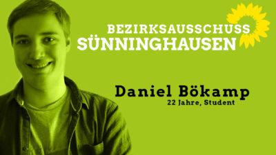 Daniel Bökamp, sachkundiger Bürger