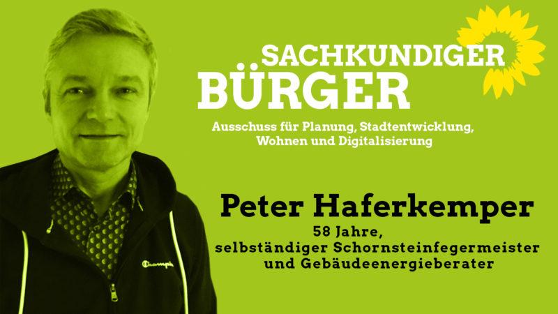 Peter Haferkemper, sachkundiger Bürger