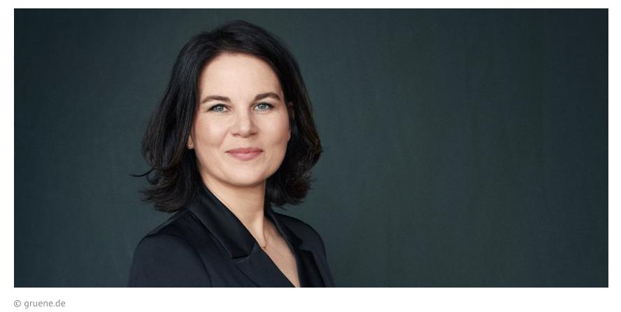 Unsere Kanzlerkandidatin Annalena Baerbock steht für Aufbruch
