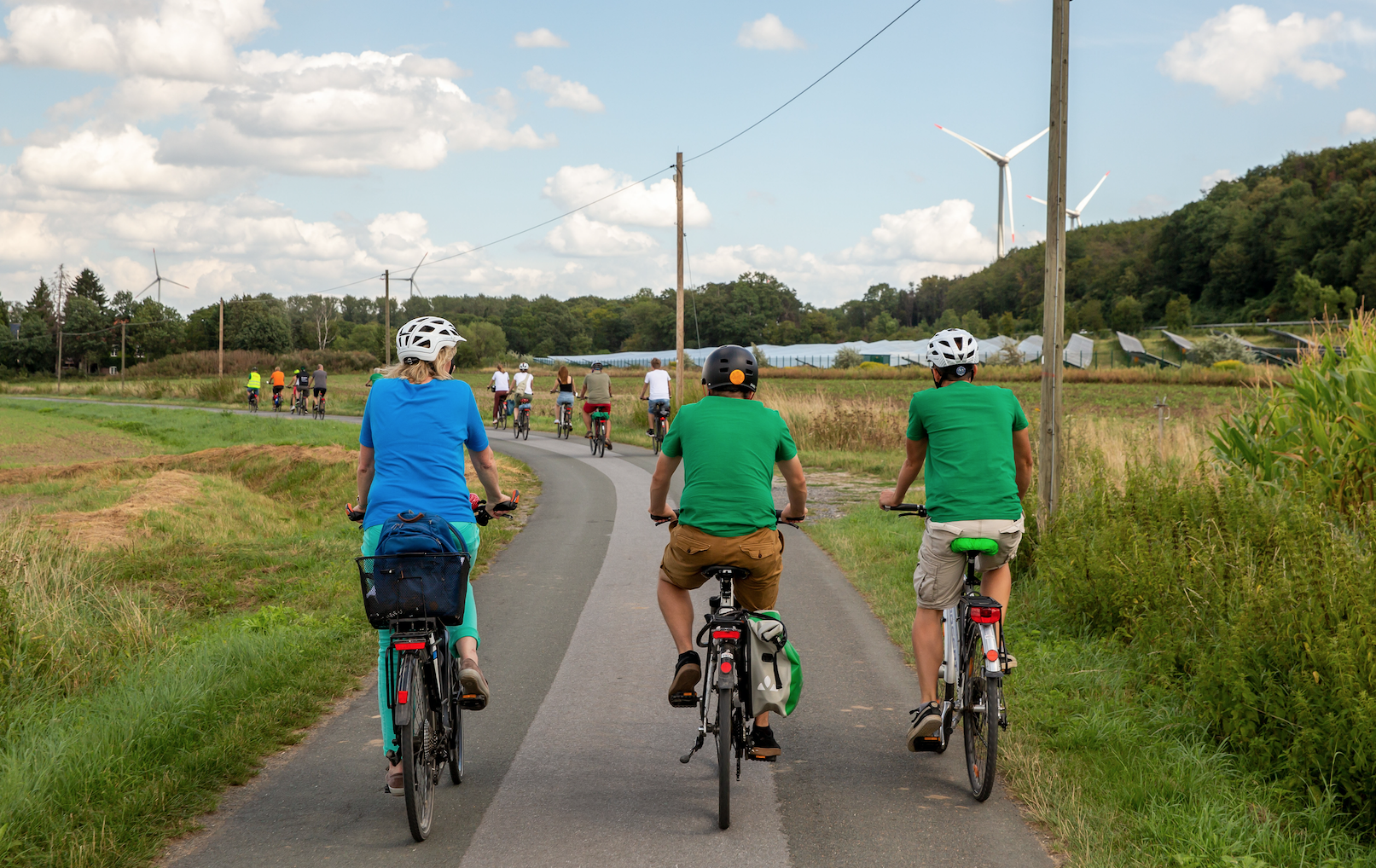 Oelde startet ab dem 29.Mai zum Stadtradeln. Grüne sind als Team dabei!
